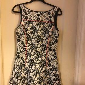 Banana Republic drop-waist floral dress